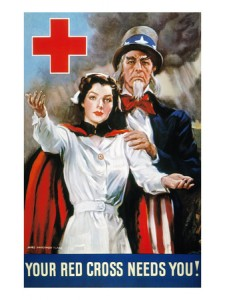 james-montgomery-flagg-world-war-ii-red-cross