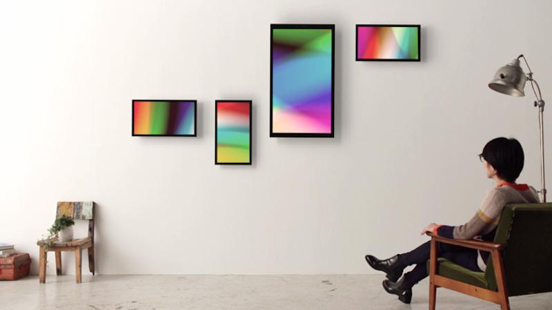 Aan De Muur : Tag u framed digitale kunst aan de muur
