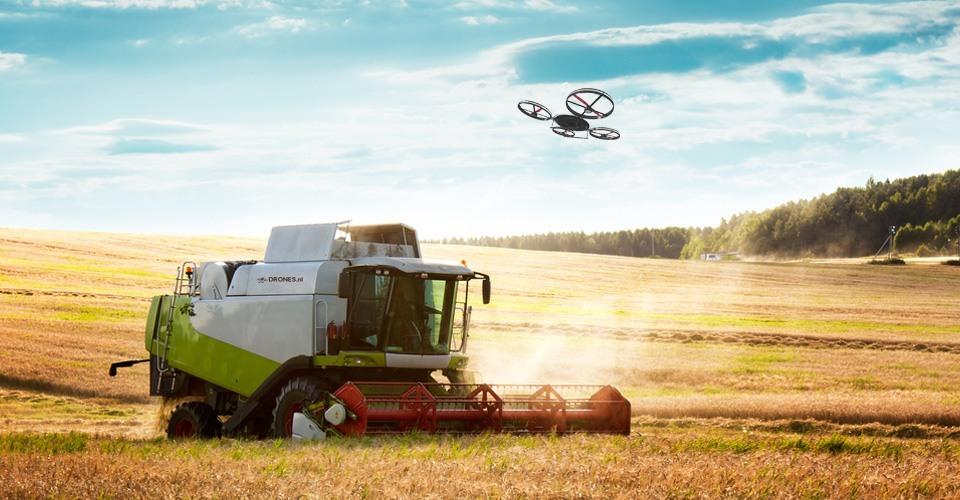 landbouw drones